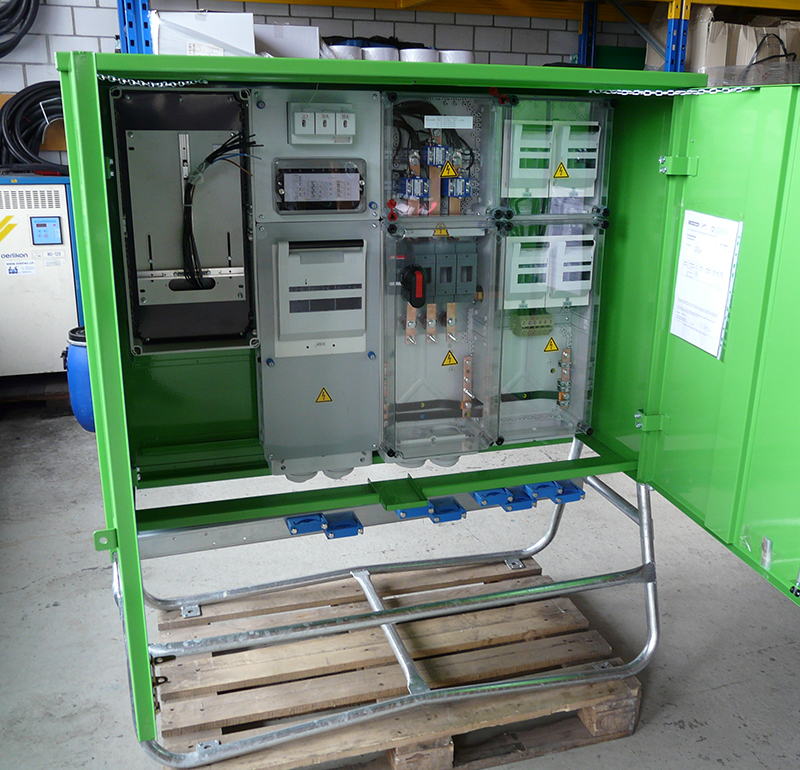 Hauptverteiler HV 400 A - W